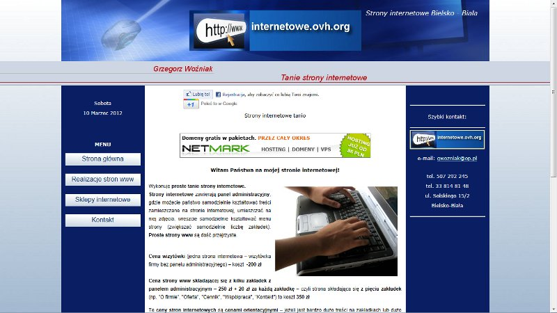 Strona internetowa Bielsko-Biała